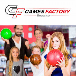 6,00€ tarif Bowling Besançon Game Factory