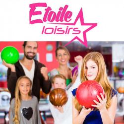 7,00€ tarif Bowling étoile loisir moins cher